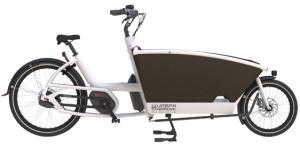 Fietshuren neem de URBAN ARROW elektrische bakfiets.