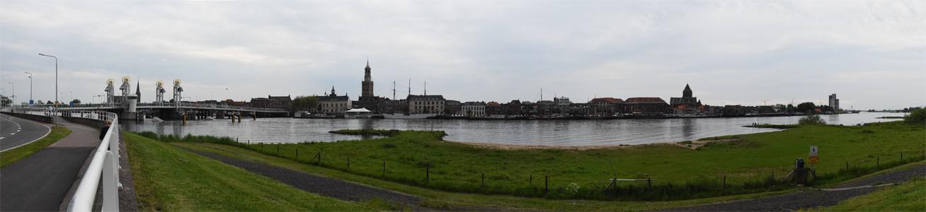 De skyline van Kampen