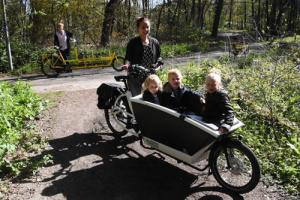 URBAN ARROW bakfiets en ONDERWATER tandem