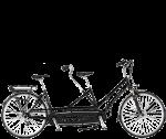 Multicycle double dream tandem met elektrische ondersteuning.