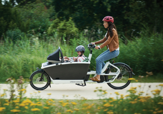Urban arrow elektrische bakfiets.
